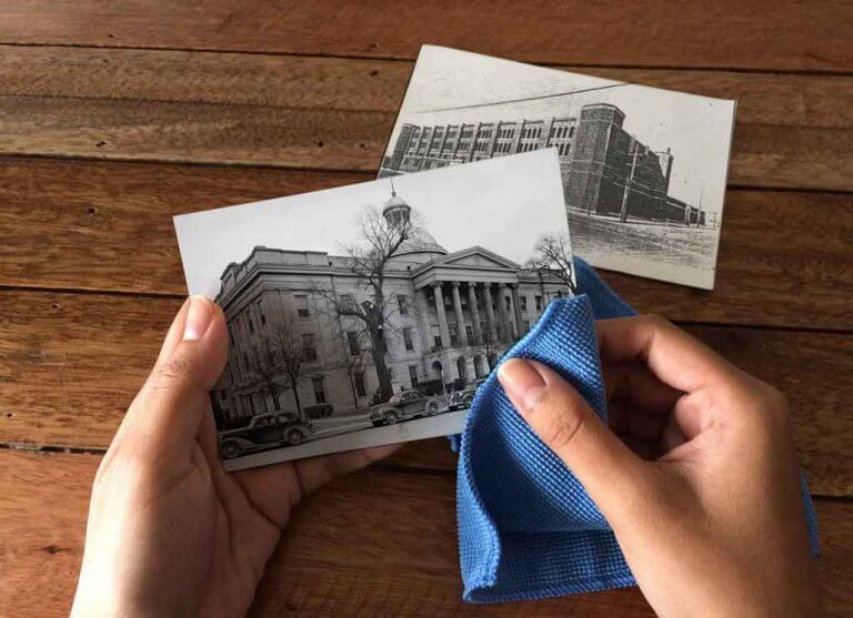 از عکسهای قدیمی و چاپ شده اسکن بگیریم؟