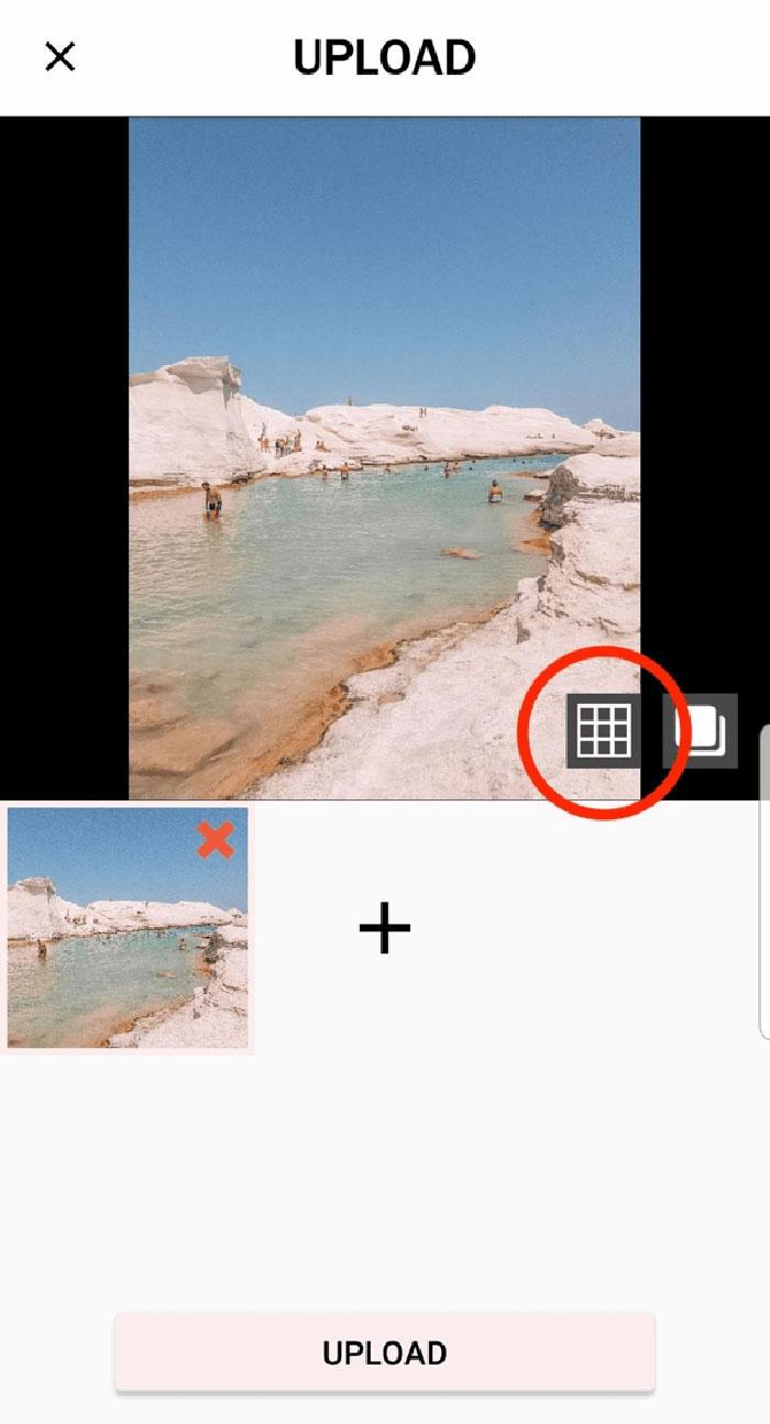 استفاده ازاستایل Grid اینستاگرام