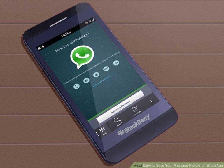 بکآپگیری و ایمیل کردن تاریخچه پیامها در واتسآپ